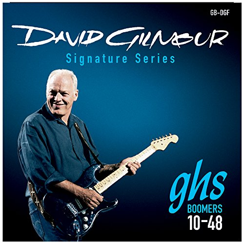 GHS Strings GB-DGF David Gilmour Signature Series, Nickel-Plated Electric Guitar Strings - Gibson 8 String
