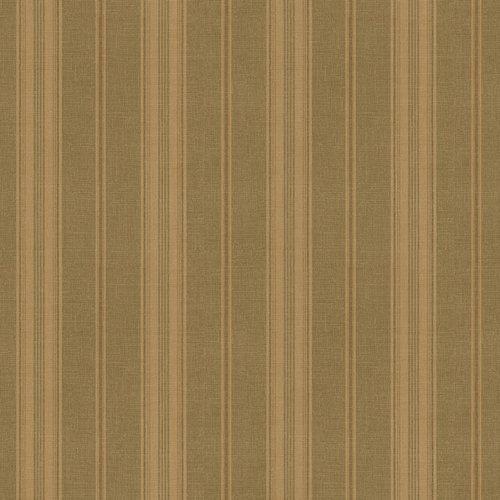 Waverly 5510729 Sunset Stripe Wallpaper, Chocolate Brown, 20.5-Inch Wide