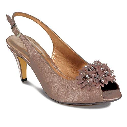 Sapphire Boutique by Sapphire - Zapatos de vestir para mujer Marrón (Zapato)