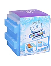 OICEPACK Ice Packs for Lunch Box, Freezer Packs, Reusable Slim Cool Pack for Lunch Bags/Lunch Boxes/Office/Jobsite/Picnics/Camping/Beach, for All Ages Use