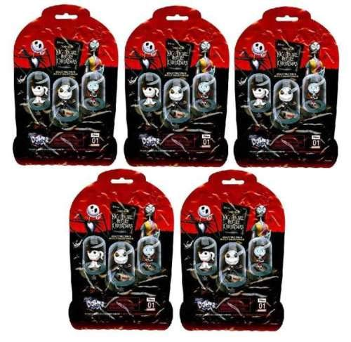 C&U Disney Nightmare Before Christmas Original Mini's Domez 5 Blind Bags