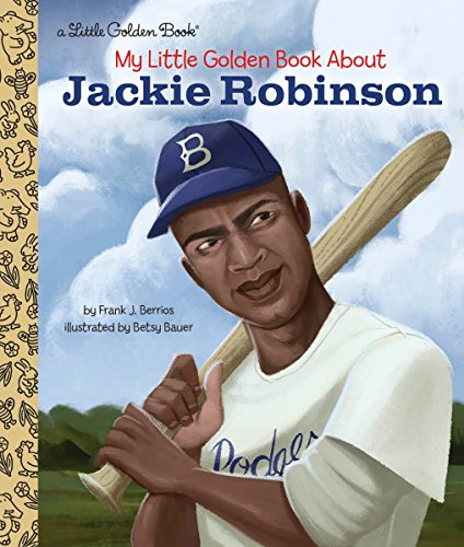 (My Little Golden Book About Jackie Robinson)