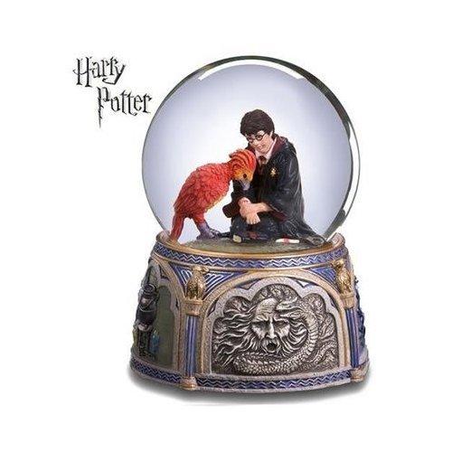 Harry Potter & Fawkes Chamber of Secrets Snow Globe