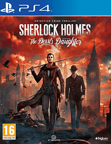Price comparison product image Sherlock Holmes: The Devil's Daughter (PS4)