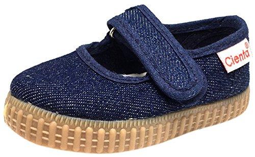 Cienta-56013-Glitter-Mary-Jane-Fashion-Sneaker-InfantToddlerLittle-KidBig-Kid
