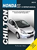 Chilton Repair Manual for Honda Fit