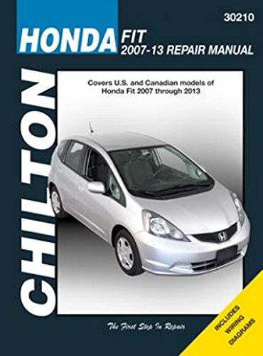 Chilton Repair Manual for Honda Fit (2007-2013) (Manual Honda Fit)