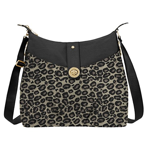 Classic w and Hobo light Leopard Baggallini wristlet Helsinki puse bundled wdBwgfq