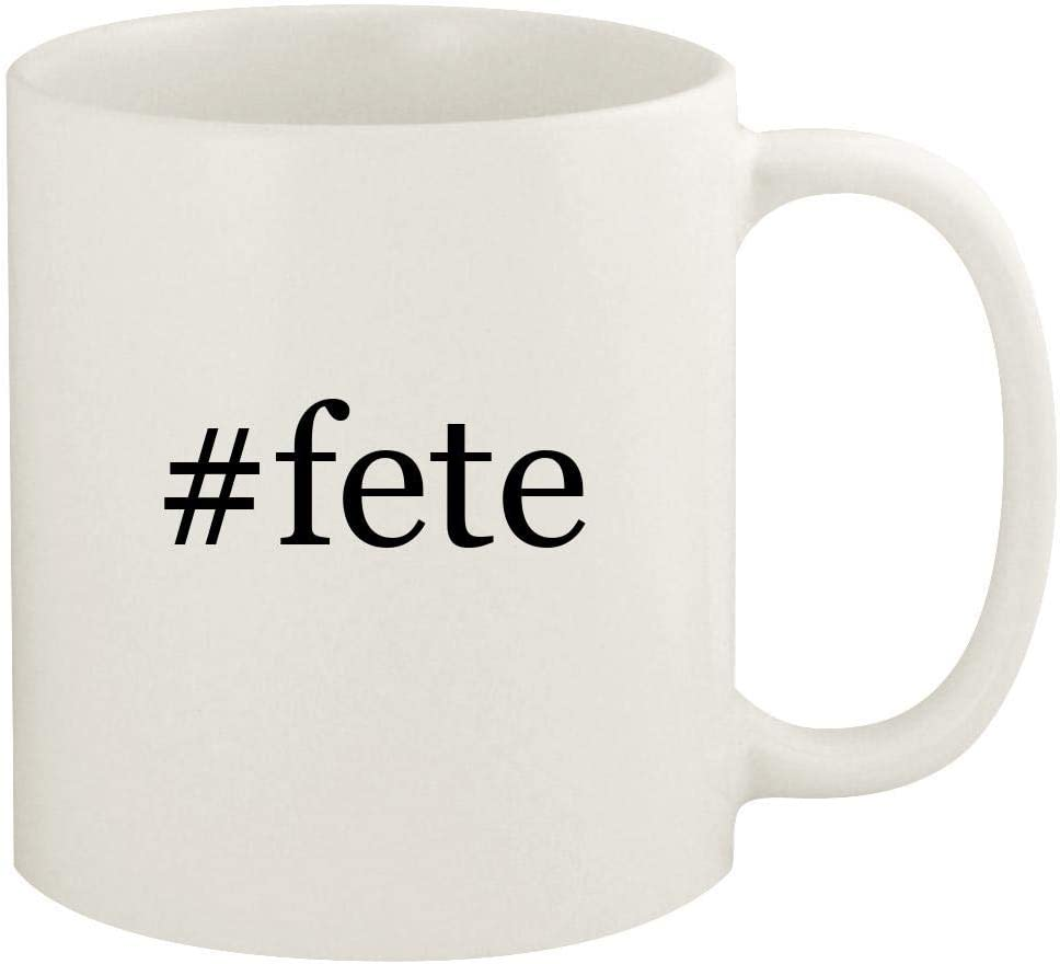 #fete - 11oz Hashtag Ceramic White Coffee Mug Cup, White 51yknafRs-L