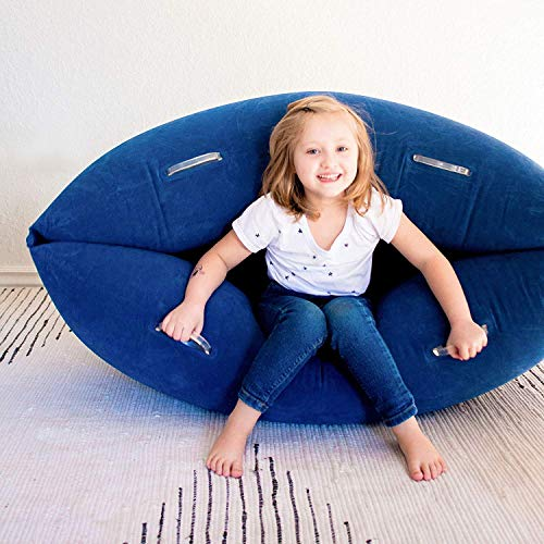 Harkla Hug (48 inches) - Inflatable Peapod for Children with Sensory Needs - Great Sensory Product for Ages 2 to 6 - Occupational Therapy Tools, Sensory Chair (Squeeze Machine)