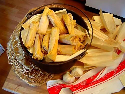 Gourmet Chicken Tamales - One Dozen