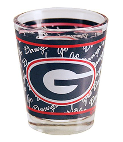 NCAA Georgia Bulldogs Shotglass Wrap