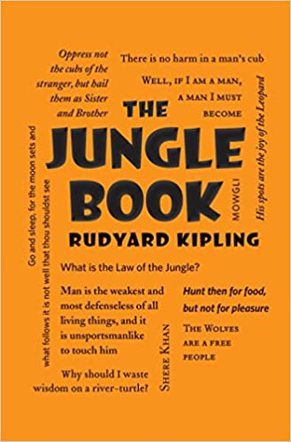 Image result for word cloud classics jungle book book cover