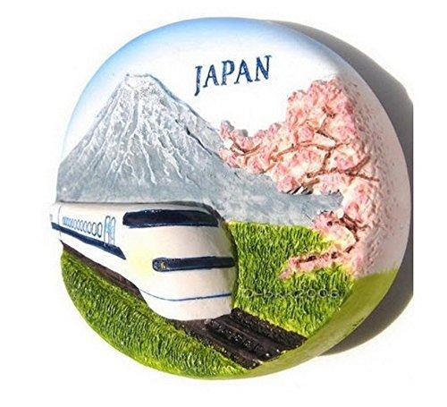 ain and Mt.fuji Japan High Quality Resin 3d Fridge Magnet SOUVENIR TOURIST GIFT 066 ()