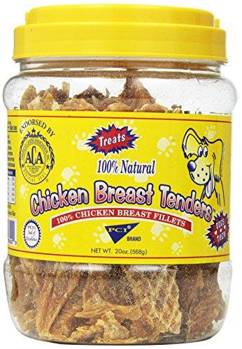 (Pet Center Dpc88020 Chicken Breast Tenders Dog Treat, 20-Ounce)