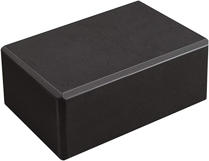"""Hello Fit - 4"""" Yoga Block - Studio 10-Pack - Eco-Friendly EVA - Support and Deepen Poses"""