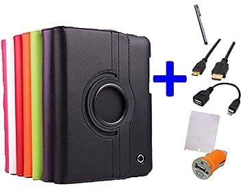 Pack 6 en 1 Funda para Tablet Bq Curie / Bq Curie 2 / Fnac 8: Amazon.es: Electrónica
