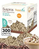 Sweetwell Sugar Free Meringue Cookies, Capuccino Coffee - 300 units (10 bags of 30 units).