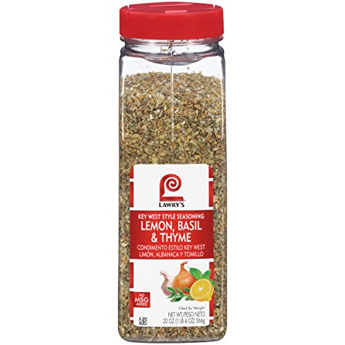 Lawry's Lemon, Basil & Thyme Key West Style Seasoning, 20 oz