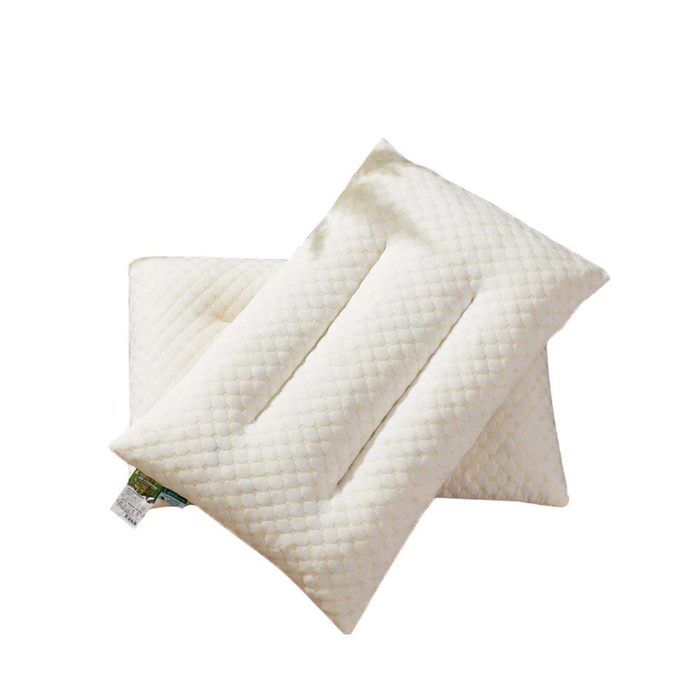 WTGG-Home Textile Latex Pillow Single-Set Pillow Pillow Student Dormitory Neck Single Pillow Single Knitted Latex Pillow /& by WYGG