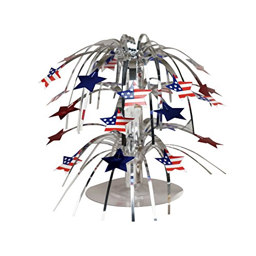 Creative Converting Stars and Flags Mini Cascade Centerpiece
