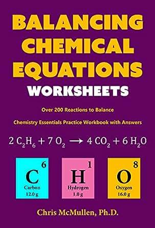 Balancing equations chemistry quiz