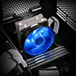 Antec-A30-CPU-Cooler-90mm-Blue-LED-Fan-for-IntelAMD-CPUs-Intel-LGA-7751150115111551156-AMD-Socket-FM1AM3AM3AM2AM2AM4
