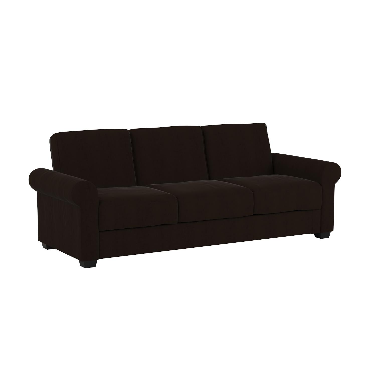 Amazon Serta Dream Convertible Eli Sofa Java Kitchen & Dining