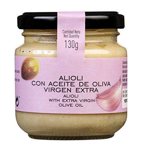 La Chinata Alioli con Aceite de Oliva Virgen Extra – 2 Paquetes de 130 gr – Total: 260 gr