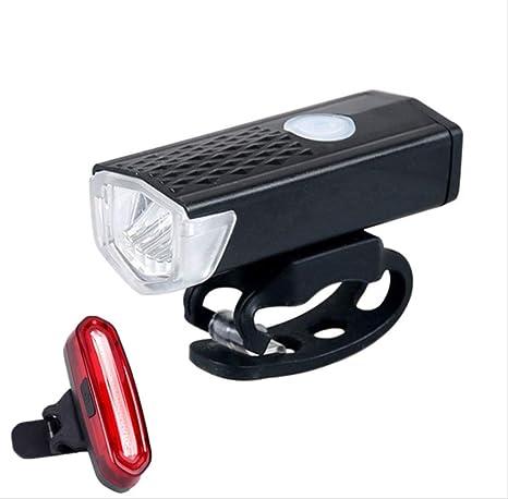 TAOZYY Luz Bicicleta, LED Luces Delantera de Bicicleta USB ...