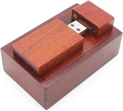 ToomLight USB Flash Drive de Madera + Caja Pendrive 4GB 8GB 16GB 32GB 66GB Diseño para Fotografía Regalo de Boda: Amazon.es: Electrónica
