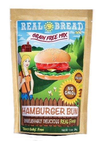 Paleo-Keto Friendly-Grain Free Hamburger Bun Mix 10.2 oz