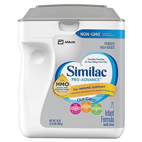 Product of Similac Pro-Advance Powder Infant Formula With Iron, With 2'-Fl Hmo (34 Oz.) - Baby Formula [Bulk Savings]