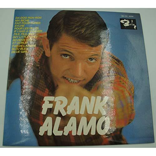 FRANK ALAMO da doo ron ron/ma biche/pour les filles LP25cm ...