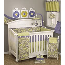 Periwinkle 10 Piece Boy's Crib Bedding Set