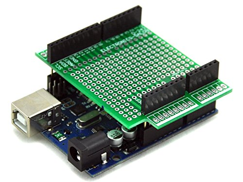 Electronics salon prototype screw shield board kit for