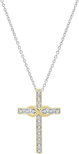 DazzlingRock Collection 18 carats Or jaune Ronde IJ Diamant blanc