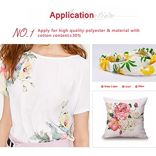 A-SUB Sublimation Paper Heat Transfer 110Sheets 13'' x 19'' Super Size Compatible with EPSON ME RICOH GX Series and SAWGRASS Etc Inkjet Printer 120gsm by A-SUB (Image #1)