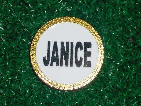 UPC 501876980392, Gatormade Personalized Golf Ball Marker Janice
