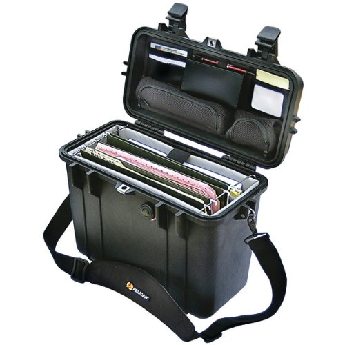 """Pelican 1437 Case With Padded Office Divider Set & Lid Organizer """"Product Type: Notebook Accessories/Notebook Cases"""""""
