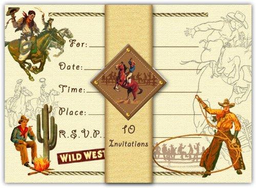 western-cowboy-invitations