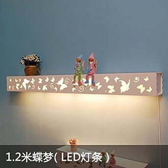 Wandleuchte Pastoral Warm Platz Lampe Mit Schalter Dimmer Schlafzimmer  Nachttisch Lampen Wohnzimmer Lampe Spiegel Frontleuchte Kinderzimmer