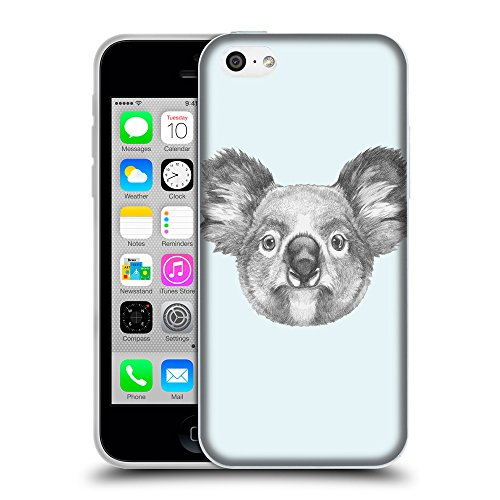 GoGoMobile Coque de Protection TPU Silicone Case pour // Q05150619 Dessin koala Bulles // Apple iPhone 5C