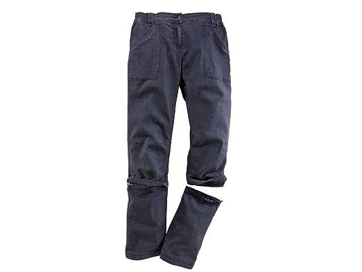 Original wählen unglaubliche Preise Modestil Crivit® Damen Trekkinghose, mit Zip-Off-Funktion auf Capri-Länge (Jeans)