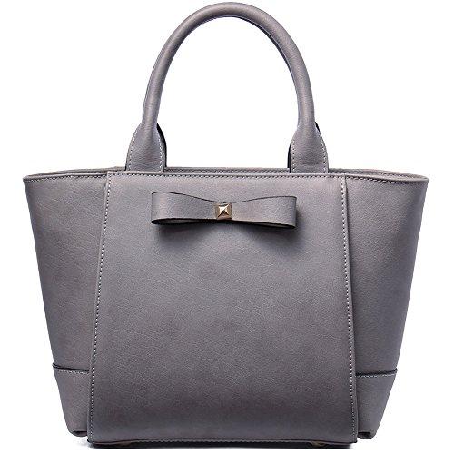 NAWO Women Leather Designer Handbags Shoulder Tote Top-handle Cross body Bags Clutch Purse
