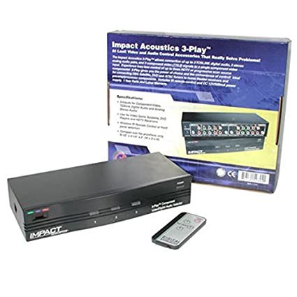 Amazon C2G Cables To Go 40324 3 Play Component Video And