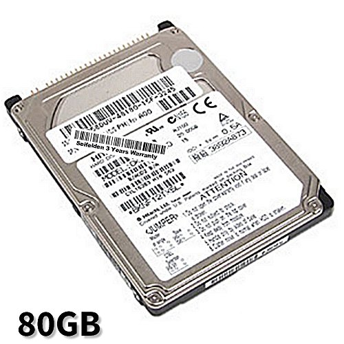 Seifelden 80GB Hard Drive for Dell Inspiron 1000 1000 1100 1100 1150 1150 1200 1200 1300 1300 2100 2100 2200 2200 2500 2500 2600 2600 2650 2650 2650C 2650C 3000 ()