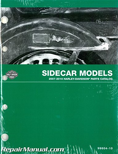 U99604-10 Used 2007-2010 Harley Davidson Sidecar Parts Catalog (2009 Harley Catalog)