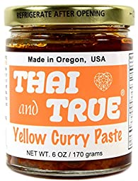 Thai and True Curry Paste - Yellow