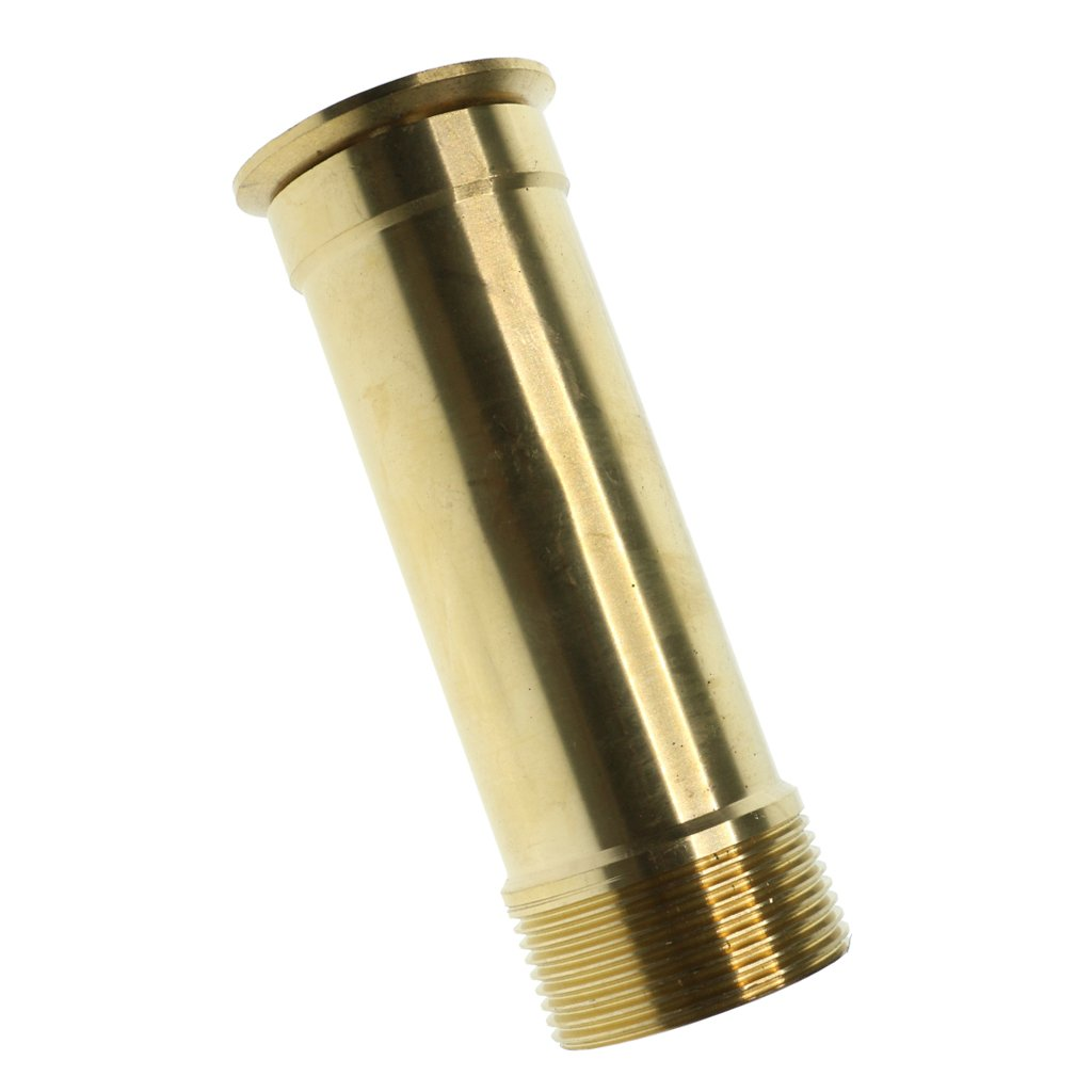 Fityle Brass Trumpet Fountain Nozzle Sprinkler Sprinkler Head Garden Pond Fountain Head Equipment - DN40